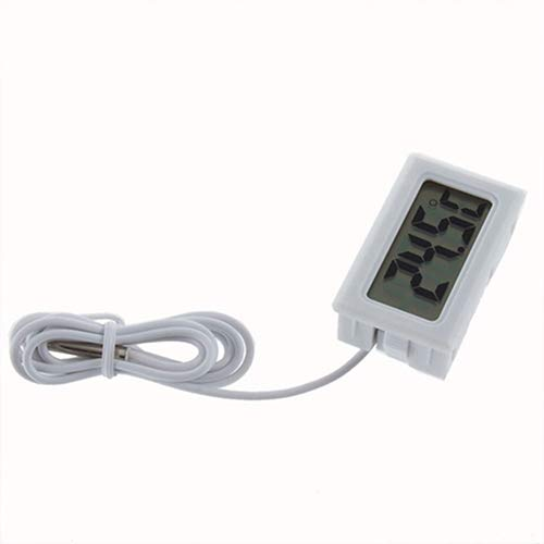 Oil Temperature Gauge Lcd - CactusAngui Thermometer LCD Refrigerator Freezer Fridge Digital Thermometer Temperature -50 to 110