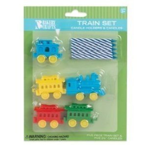 Amazon Oasis Supply Train Candle Holder Birthday Candles 6