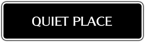 (Diuangfoong Quiet Place Street Sign Person Sleeping Library Hospital Cubicle Office Dcor 4