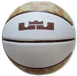 """Nike Lebron Mid Size (28.5"""") Basketball - Desert Camouflage/White"""