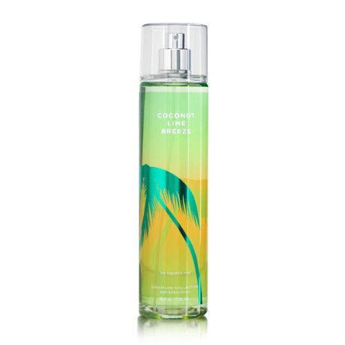 Bath & Body Works Signature Collection Fragrance Mist Coconut Lime Breeze 8 oz / 236 ml