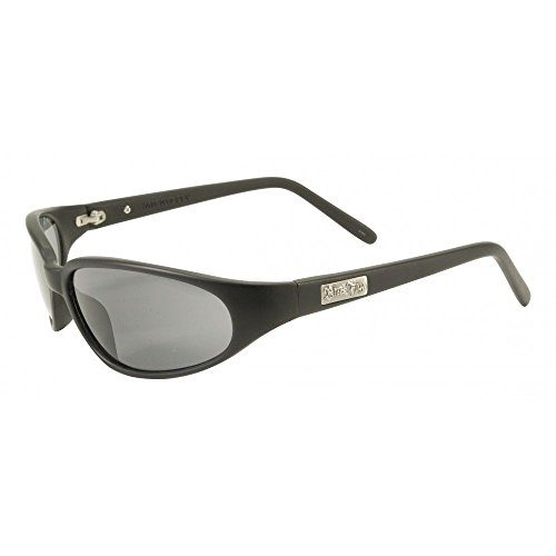 Black Flys Micro Fly Sunglasses (Black Flys Micro Fly Sunglasses - Matte Black - Smoke Polarized Lenses)