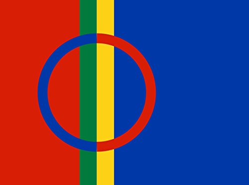 magFlags XL Flag Lapland | landscape flag | 2.16m² | 23sqft | 130x170cm | 50x65inch - 100% Made in Germany - long lasting outdoor flag