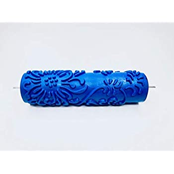 Patterned Paint Roller - Chrysanthemum Pattern - 7