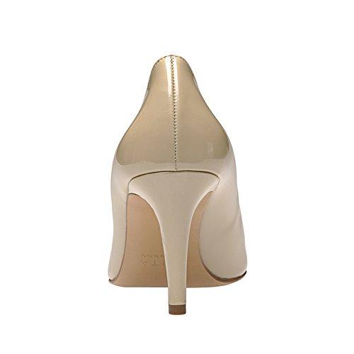 Evita Shoes - Zapatos de vestir de Piel para mujer Beige - beige