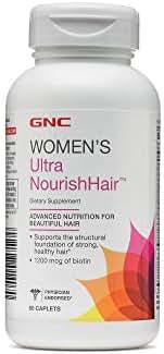 GNC Ultra Nourish-Hair 60 capsules(1200 mcg of biotin)