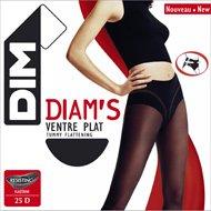 choisir véritable meilleur pas cher choisir le plus récent Dim - Collant T3 diam's ventre plat couleur noir: Amazon.fr ...
