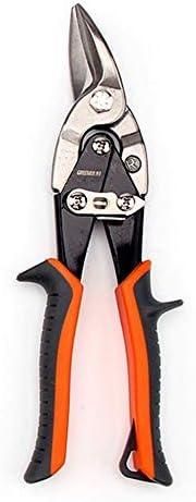 Courbe droite Cisaille Aviation Aviation Tin Snip Spanners Pinces Coupe de Droit//Droite//Gauche//Cisaille Industrielle de Coupeur pour Tuyau PVC Fer