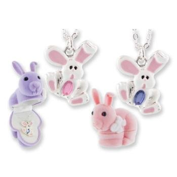 Bunny Necklace (Easter Jewelry)