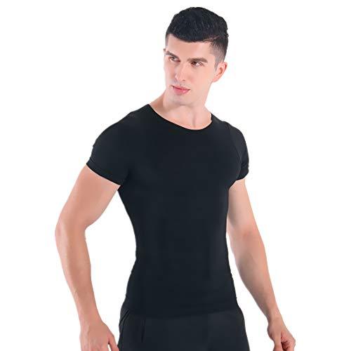 信頼疑い者志す(インマン) INMAN 【強圧 金極シャツ】加圧インナー シャツ コンプレッションウェア 半袖 男性用 ダイエット 補正下着 猫背矯正