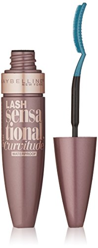 Maybelline New York Lash Sensational Curvitude Waterproof Mascara, Very Black, 0.32 Fluid Ounce