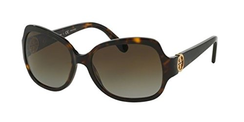 Tory Burch Women's 0TY7059 Sunglasses, Dark - Tory Brown Burch