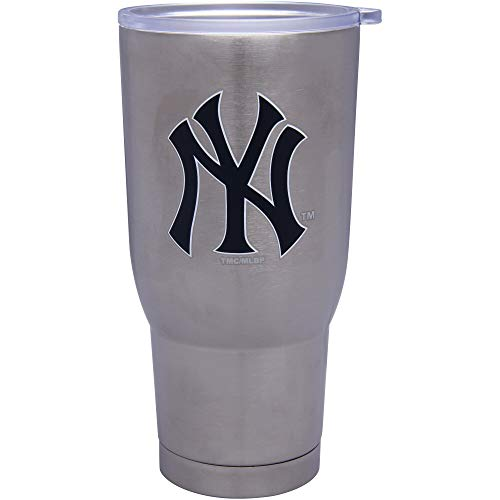 Memory Company MLB New York Yankees MLB-NYY-3200 The Keeper 32 oz. Stainless Steel Tumbler, Multi, One Size