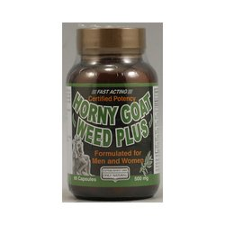 Only Natural Horny Goat Weed Plus 60 Cap - 3 Pack