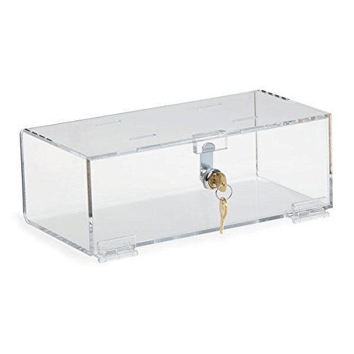 Single Lock Medical Box Medium 12''W x 6''D x 4.25''H by CeilBlue