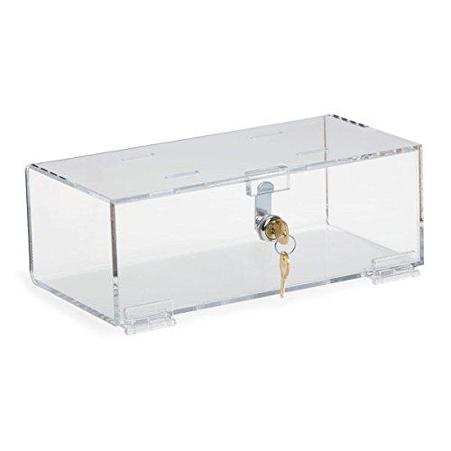 Single Lock Medical Box Medium 12''W x 6''D x 4.25''H by CeilBlue
