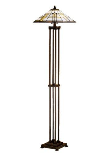 2-Light Arrowhead Mission Floor Lamp (Arrowhead 2 Light)