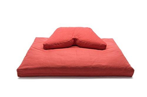 Cinnamon Buckwheat Hull Regular Lift Cosmic Cushion & Cotton Batting Zabuton Meditation Cushion Set Review