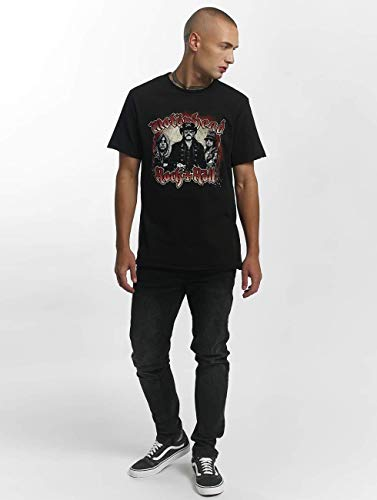 T Bk shirt Motorhead Amplified Black black Homme chains qnfHxZAp6
