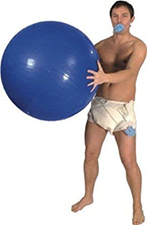Giant Baby Kit For Men Dummy Nappy Fancy Dress Stag Party Smiffys Adult Pin