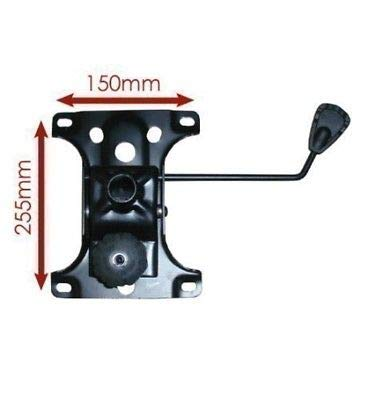Placa de Repuesto para mecanico con Palanca de Cambio y Mecanismo de Placa de Repuesto para Silla de Oficina o de Escritorio, tamano Grande