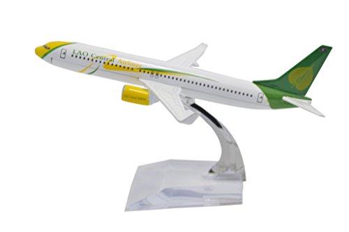 TANG DYNASTY 1/400 16cm ラオス国営航空 Lao Airlines ボーイング B737 高品質合金飛行機プレーン模型 おもちゃ