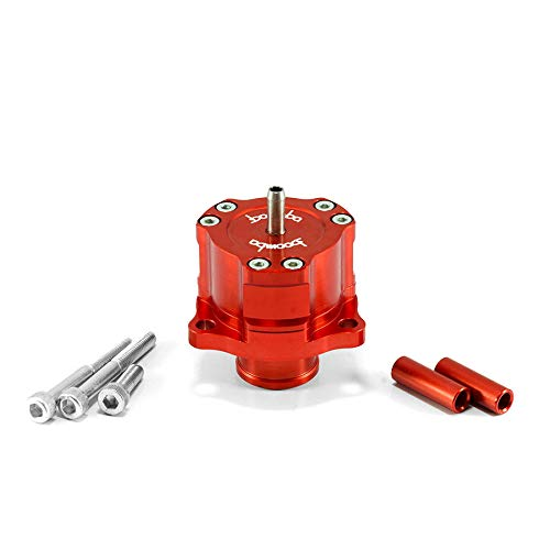 Boomba Racing Bypass Valve Fully Adjustable Red for 2013+ Ford Focus ST / Fusion 2.0