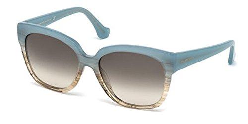 Sunglasses Balenciaga BA 15 BA0015 86B light blue/other / gradient smoke