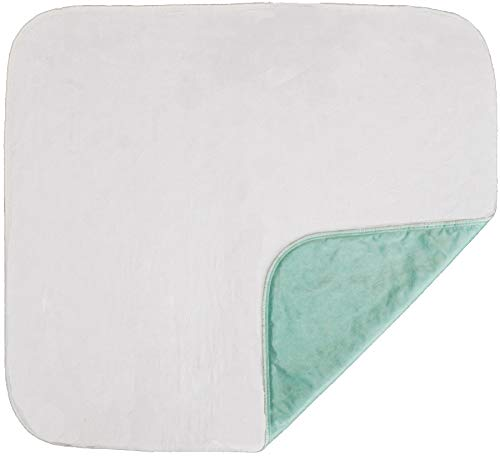 """NOVA Waterproof Reusable Underpad with 100% Cotton Skin Soft Top Layer, Washable Incontinence Bed and Surface Overlay, Super Absorbent, 17"""" x 24"""""""