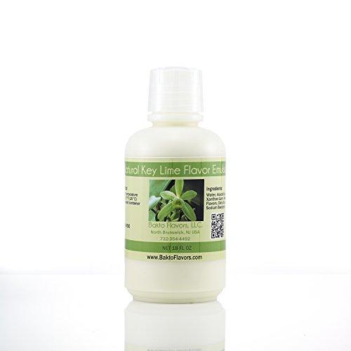 Lime Flavor Extract - Natural Key Lime Flavor Emulsion- 18 FL OZ