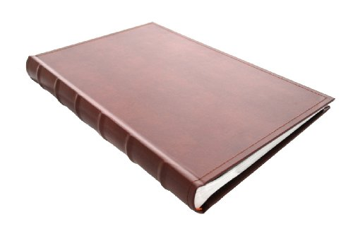European Leather Photo Album Holds 300 4x6