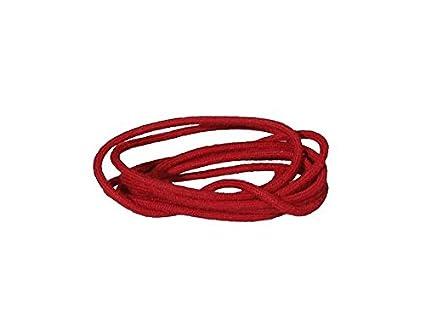 Cable para cableado Fender Vintage Style, color rojo, 1 metro Cloth Wire vcc-