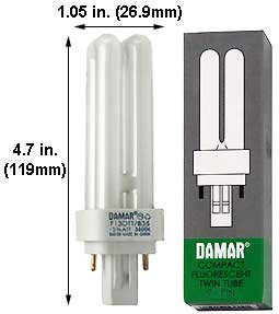 (Case of 30) Double Twin Tube Compact Fluorescent Lamps | F13DTT/835/GX23-2