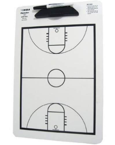 Coaches' & Referees' Gear KBA Football Coaches 12 x 18 Playmaker Clipboard Single Play