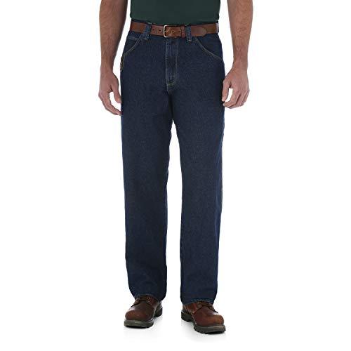 Wrangler Men's Riggs Workwear Contractor Jean, Antique Indigo, 33x32