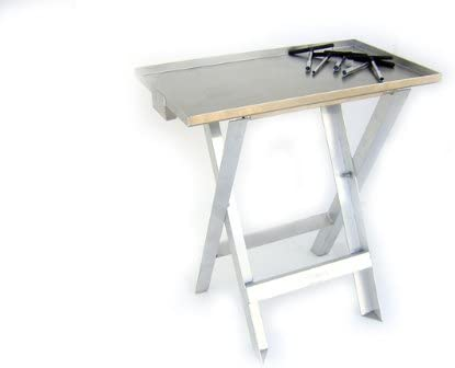 Pit Posse Pp2422 Aluminum Folding Work Stand Table