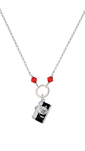 red camera necklace - 8