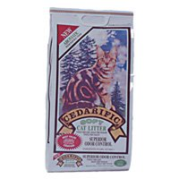 Cedarific Natural Cedar Chips Cat Litter, 7.5 lb (Pack of 1)