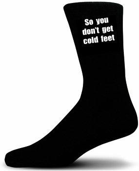 So you dont get cold feet cotton rich socks wedding socks socks so you dont get cold feet cotton rich socks wedding socks socks for junglespirit Images