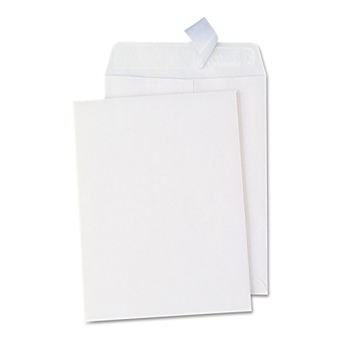 Universal One Peel Seal Strip Catalog Envelope, 10 x 13, White, 100/Box