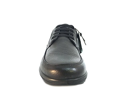 8904 NERO Scarpa uomo Enval soft sneaker pelle made in Italy  Amazon.fr   Chaussures et Sacs 0c6ae57718a