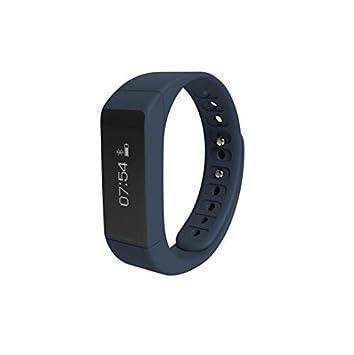 Iwown i5 Plus inteligente Wristband 0.91 Pantalla OLED Bluetooth 4.0 impermeable IP65 pulsera de Sport Para iPhone 6 6S Plus Samsung S6 S7 Plus ...