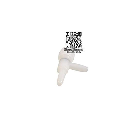 (D-World4Pet Aquarium Air Pump - Aquarium Adjustable Air Valve Check Dia4mm Match Air Hose Pipe Pump, Aquarium Air Controller Connector Switch to Adjust Air Flow)