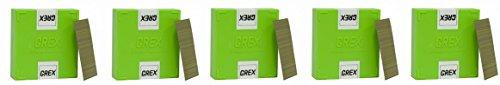 GREX P6/35L 23 Gauge 1-3/8-Inch Length Headless Pins (10,000 per box) (5-(10,000 per box)) by Grex Power Tools
