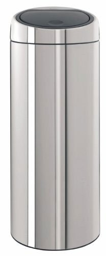 Brabantia 30 Liter Touch Bin.Brabantia 287367 30 Liter Touch Bin Brilliant Steel