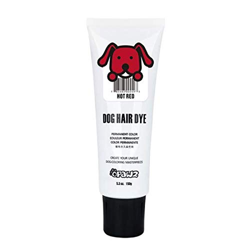 dog hair color dye german shepherd hair amazoncom owpawz dog hair dye gel red new bright fun shade semipermanent completely nontoxic and safe pet hair accessories supplies shade