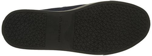 Mocasines On Origami Azul Slip United Para indigo Mujer Nude twISnqP