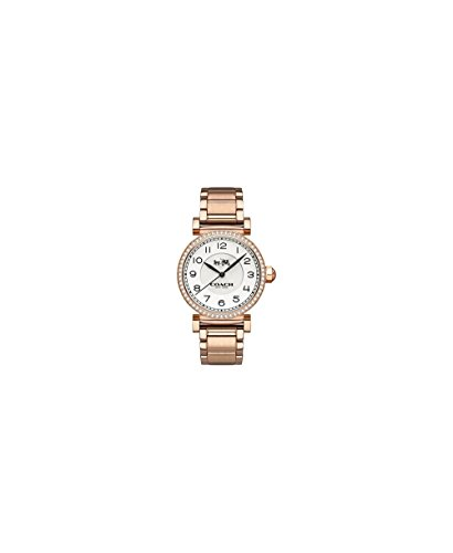 Coach Ladies MADFS Analog Dress Quartz Watch (Imported) 14502398