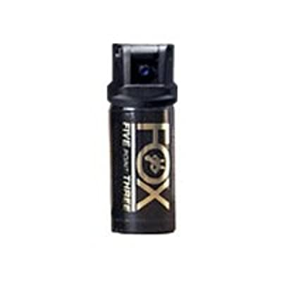 ACK, LLC Fox Labs 1.5 Ounce 2% OC 5.3-mm Flip Top Stream Pepper Spray