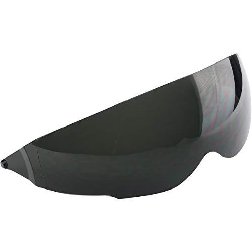 Pilot Motorsport Unisex-Adult Replacement Face Shield Dark Smoke One Size